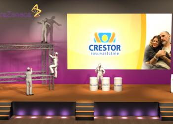 Crestor - Une scénographie Auréol