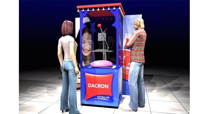 Dacron - Une scénographie Auréol
