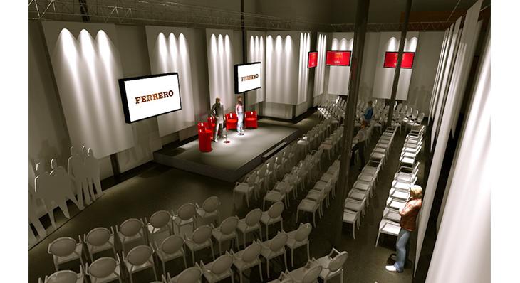 Ferrero - Une scénographie Auréol