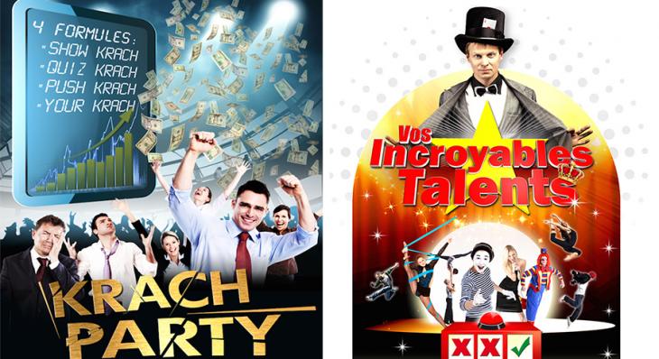 Ktach Party © - Vos Incroyables Talents - Des concepts Auréol