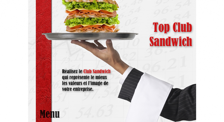Top Club Sandwich © - Un concept Auréol