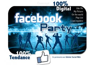 Facebook Party © - Un concept Auréol