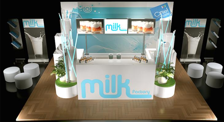 Milk - Une scénographie Auréol