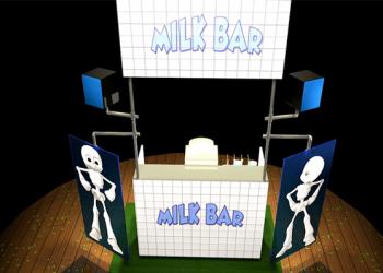 Milkbar - Une scénographie Auréol