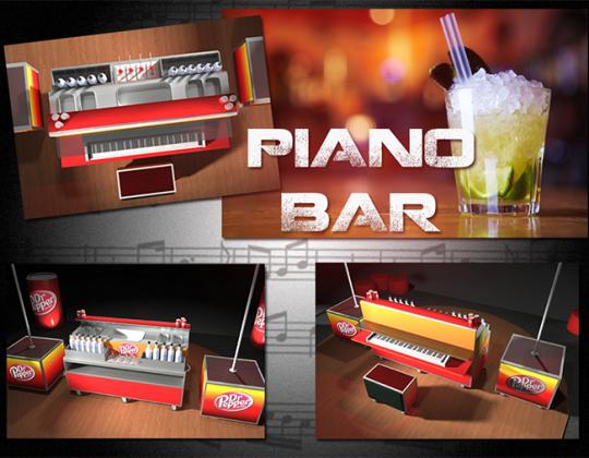 Piano Bar © - Un concept Auréol