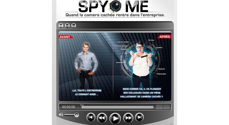 Spy Me © - Un concept Auréol