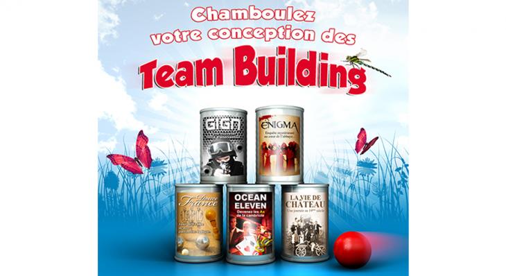 Team Building - Un concept Auréol