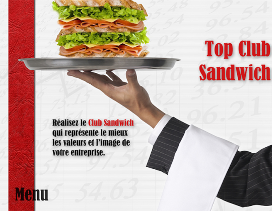 Top Club Sandwich © - Un concept Auréol