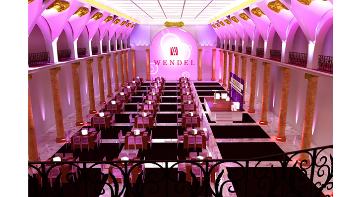 Wendel - Une scénographie Auréol