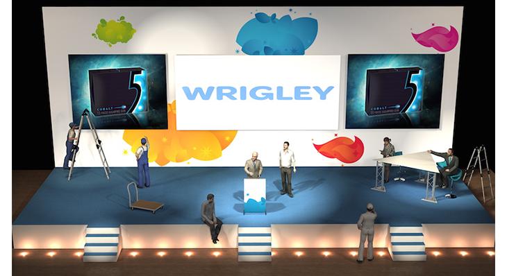 Wrigley - Une scénographie Auréo