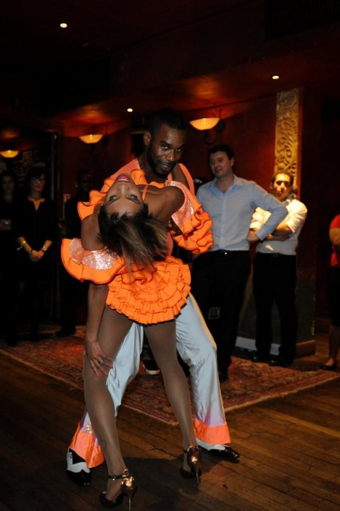 fête de fin d'année Sanef its - salsa