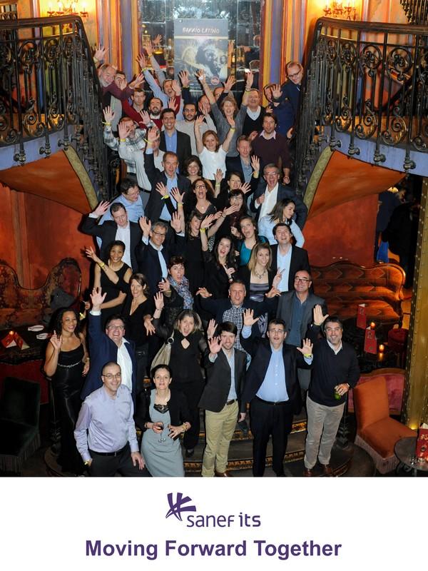 fête de fin d'année Sanef its - photo groupe